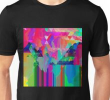 Psychedelic Glitch Unisex T-Shirt