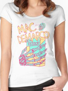 Mac Demarco - The Cramp Women's Fitted Scoop T-Shirt