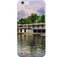 Oxford University Boathouses On The Thames iPhone Case/Skin