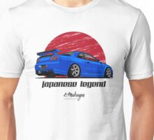 Nissan Skyline GTR R34 (blue) Unisex T-Shirt