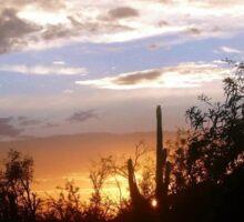 Arizona Sunset Sky Sticker