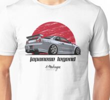 Nissan Skyline GTR R34 (grey) Unisex T-Shirt