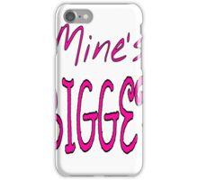 Mines Bigger iPhone Case/Skin