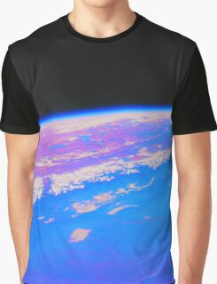 Pale Pink Dot Graphic T-Shirt