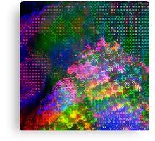 Psychedelic Glitch n.2 Canvas Print