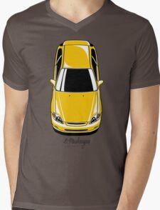 Honda Civic EK (yellow) Mens V-Neck T-Shirt