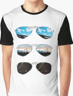 Aviators through the day Graphic T-Shirt