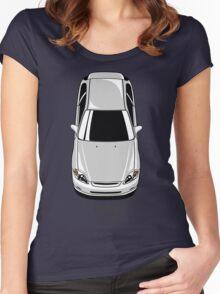 Honda Civic EK (white) Women's Fitted Scoop T-Shirt