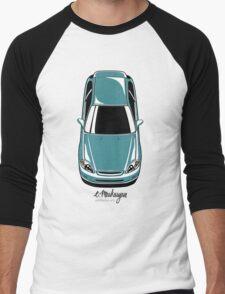 Honda Civic EK (green-blue) Men's Baseball ¾ T-Shirt