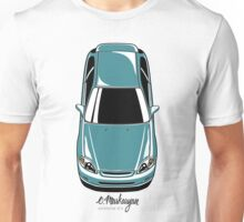 Honda Civic EK (green-blue) Unisex T-Shirt