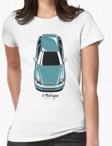 Honda Civic EK (green-blue) Womens Fitted T-Shirt