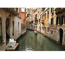 Venice canals 4 Photographic Print