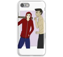 BAMF lil' Red and Big Bad Wolf iPhone Case/Skin