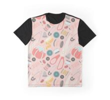 Suddenly Sewing in Pink Graphic T-Shirt