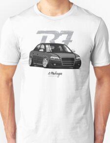 Audi A4 B7 (black) Unisex T-Shirt