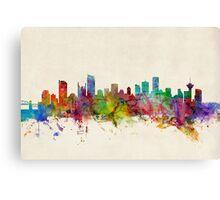 Vancouver Canada Skyline Canvas Print