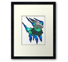 Pokemon Jacksepticeye Framed Print