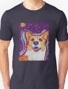 Stary Night Corgi Unisex T-Shirt