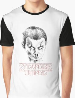 Stranger Things: Eleven 011 Graphic T-Shirt