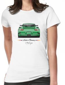 GT3 (green) Womens Fitted T-Shirt