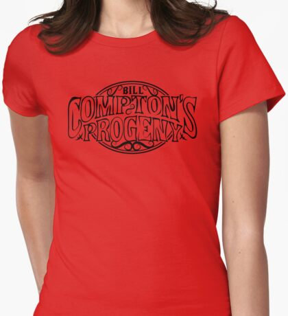 Compton's Progeny Womens Fitted T-Shirt