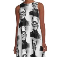 Frankenstein monster A-Line Dress