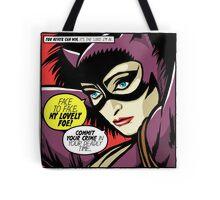 Post-Punk Face Tote Bag