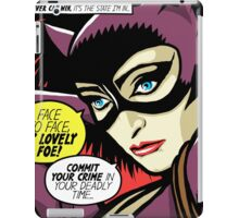 Post-Punk Face iPad Case/Skin