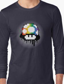 Rainbow Mushroom Long Sleeve T-Shirt