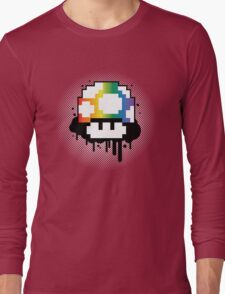 Rainbow Mushroom Long Sleeve T-Shirt