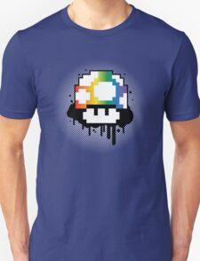 Rainbow Mushroom Unisex T-Shirt