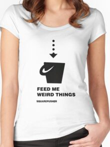 Squarepusher - Feed Me Weird Things - black Women's Fitted Scoop T-Shirt