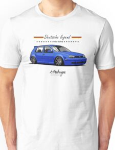 VW Golf MKIV (blue) Unisex T-Shirt