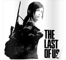 Ellie in the last of us Poster