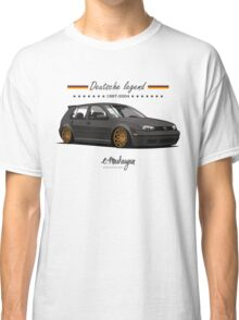 VW Golf MKIV (black) Classic T-Shirt