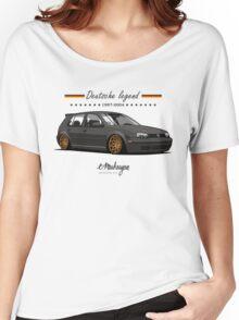 VW Golf MKIV (black) Women's Relaxed Fit T-Shirt