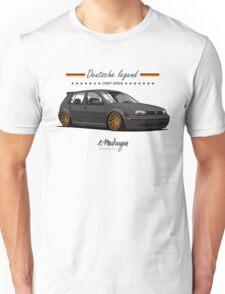 VW Golf MKIV (black) Unisex T-Shirt