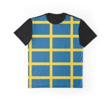 Sweden Pattern (Sverige) Graphic T-Shirt