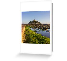 St Michaels Mount Cornwall Greeting Card