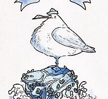 Ahoy Seagull by iisjah