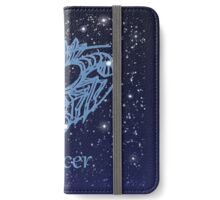 Cancer Constellation and Zodiac Sign iPhone Wallet/Case/Skin