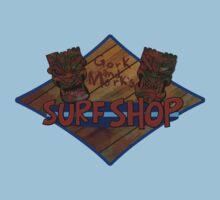 Gork and Mork's Surf Shop (Warhammer 40k) by pixel-pie-pro