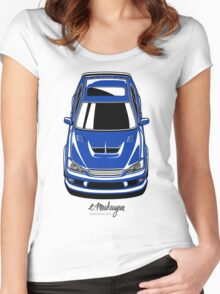 Toyota Altezza / Lexus IS (blue) Women's Fitted Scoop T-Shirt