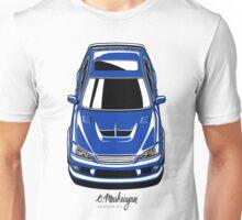 Toyota Altezza / Lexus IS (blue) Unisex T-Shirt