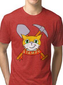 Funny cat games t-shirt Tri-blend T-Shirt