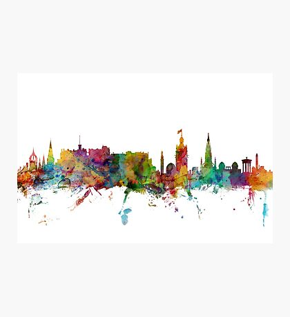 Edinburgh Scotland Skyline Photographic Print