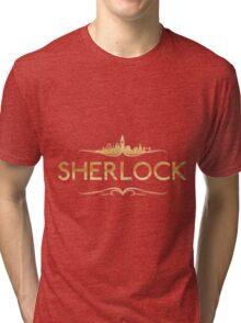 golden sherlock Tri-blend T-Shirt