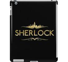 golden sherlock iPad Case/Skin