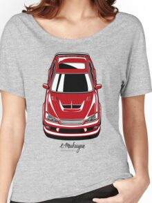 Toyota Altezza / Lexus IS (red) Women's Relaxed Fit T-Shirt