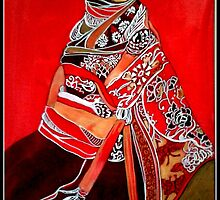 Ethnic woman number 2 by Linda Arthurs